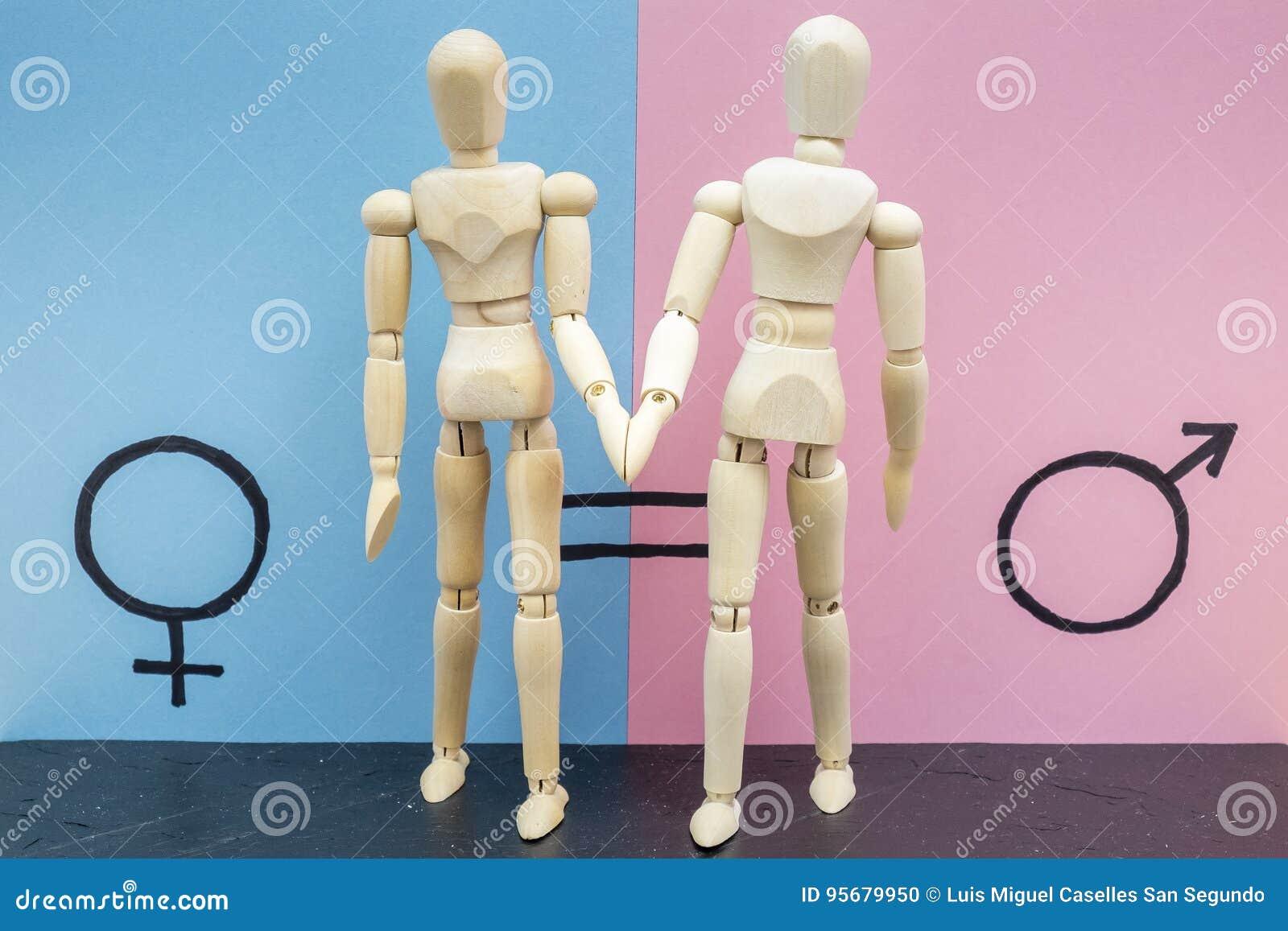 Symbol der Gleichberechtigung der Geschlechter