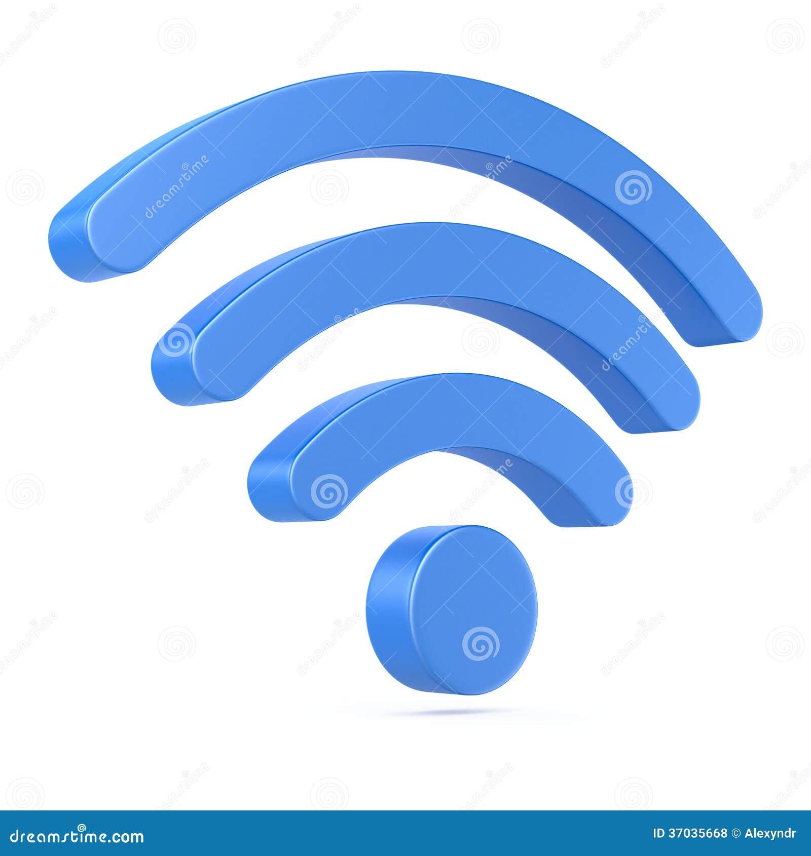 Symbol des drahtlosen Netzwerks