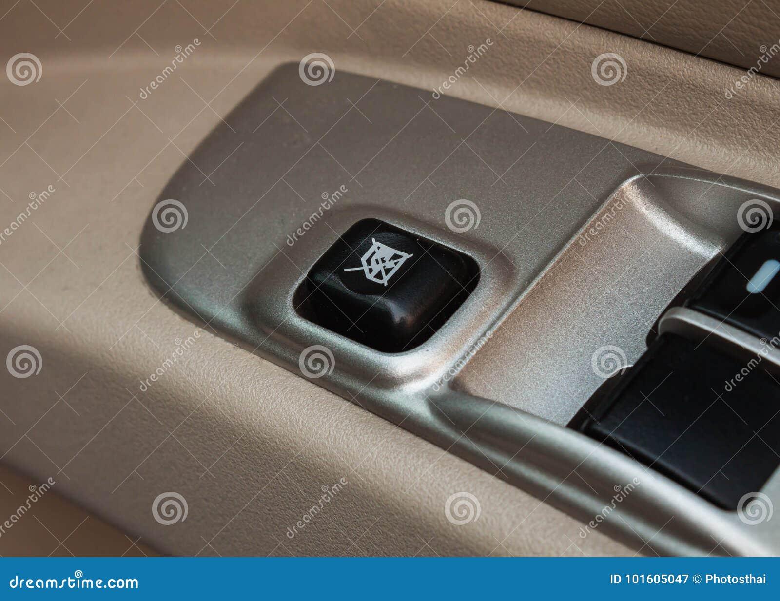 Symbol Door Lock Buttons In Auto Car Stock Image Image Of