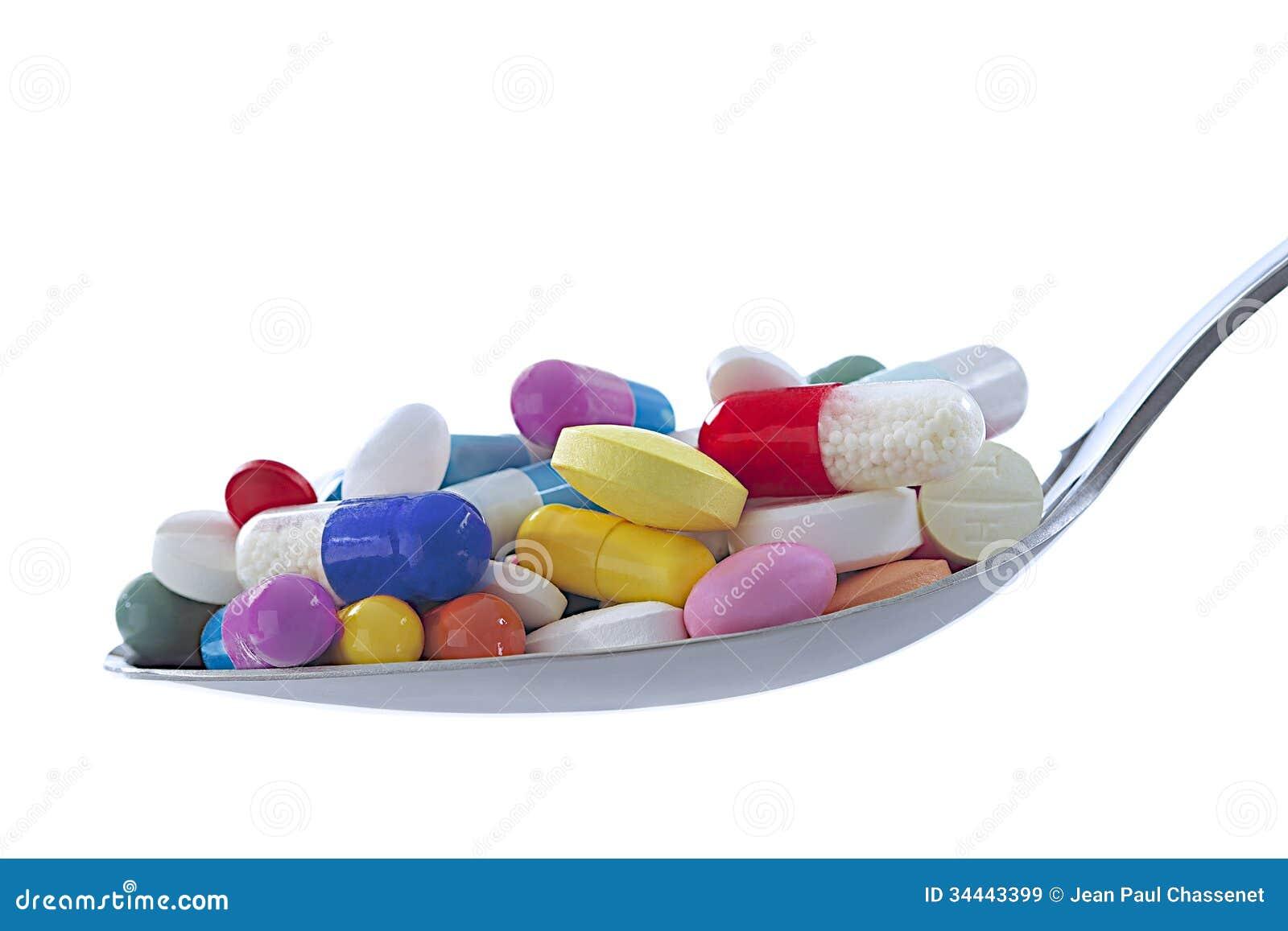 Symbol of drugs dependency