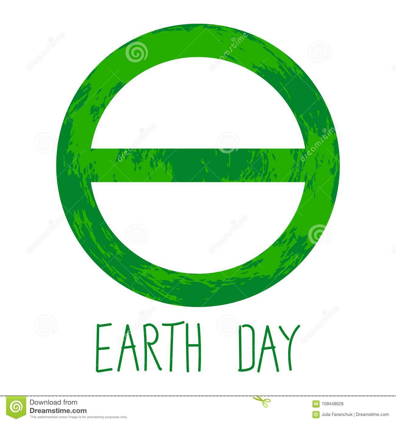 Symbol Of Earth Day Stock Illustration Illustration Of Global