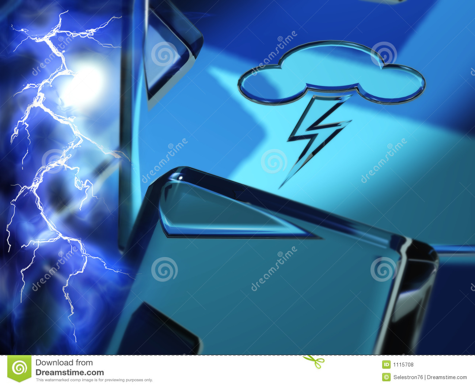 Symbol elektryczna pogoda