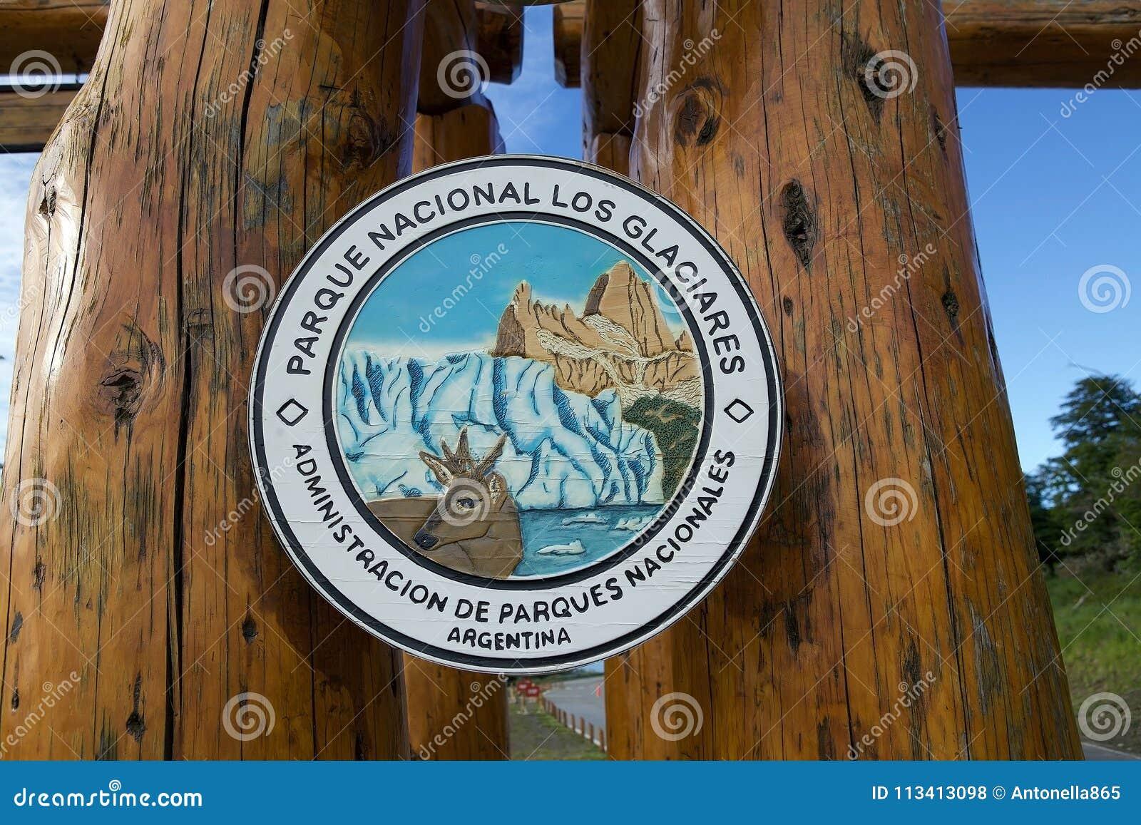 Los Glaciares National Park In Patagonia Argentina Editorial Stock