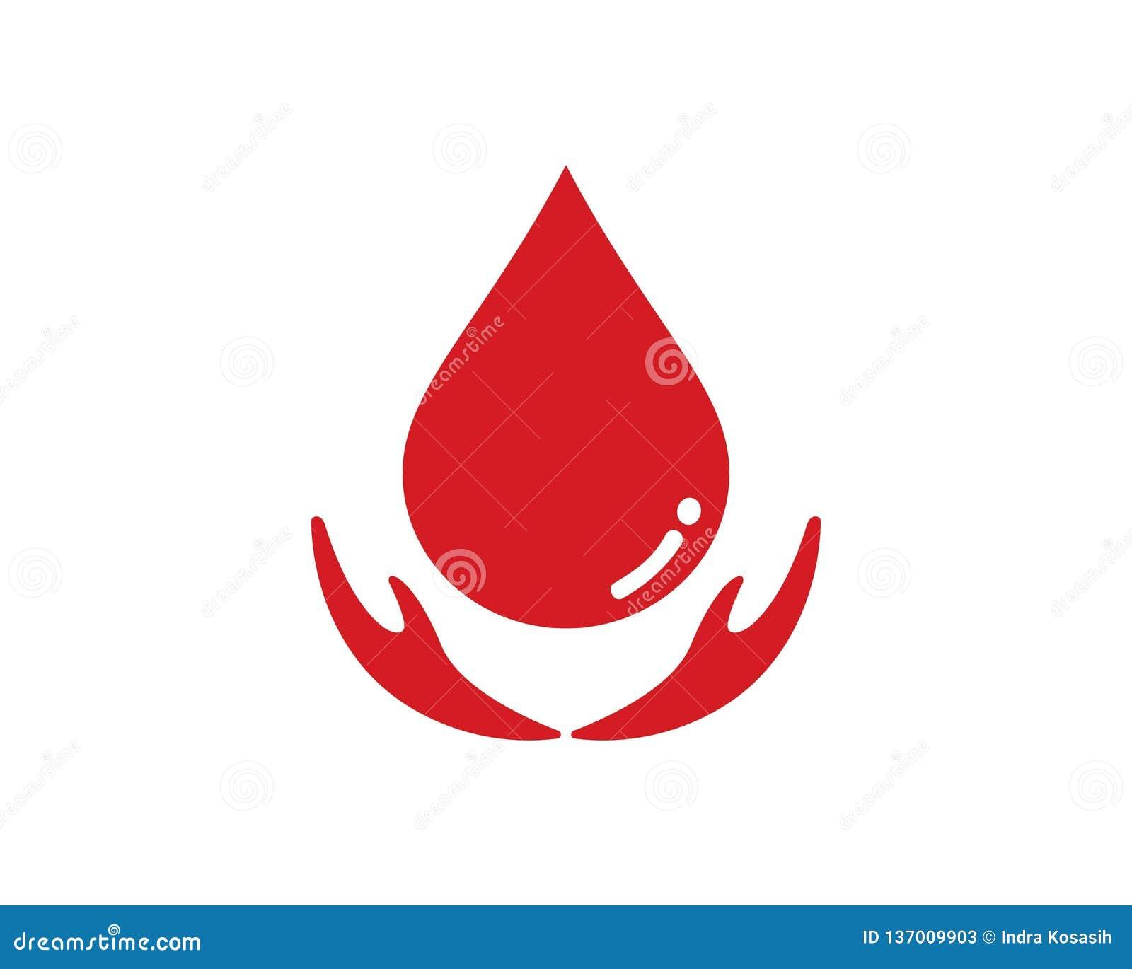 Symbol för blodlogovektor