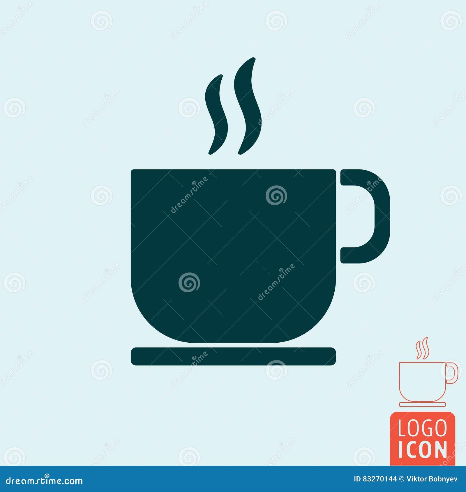 Symbol för kaffekopp