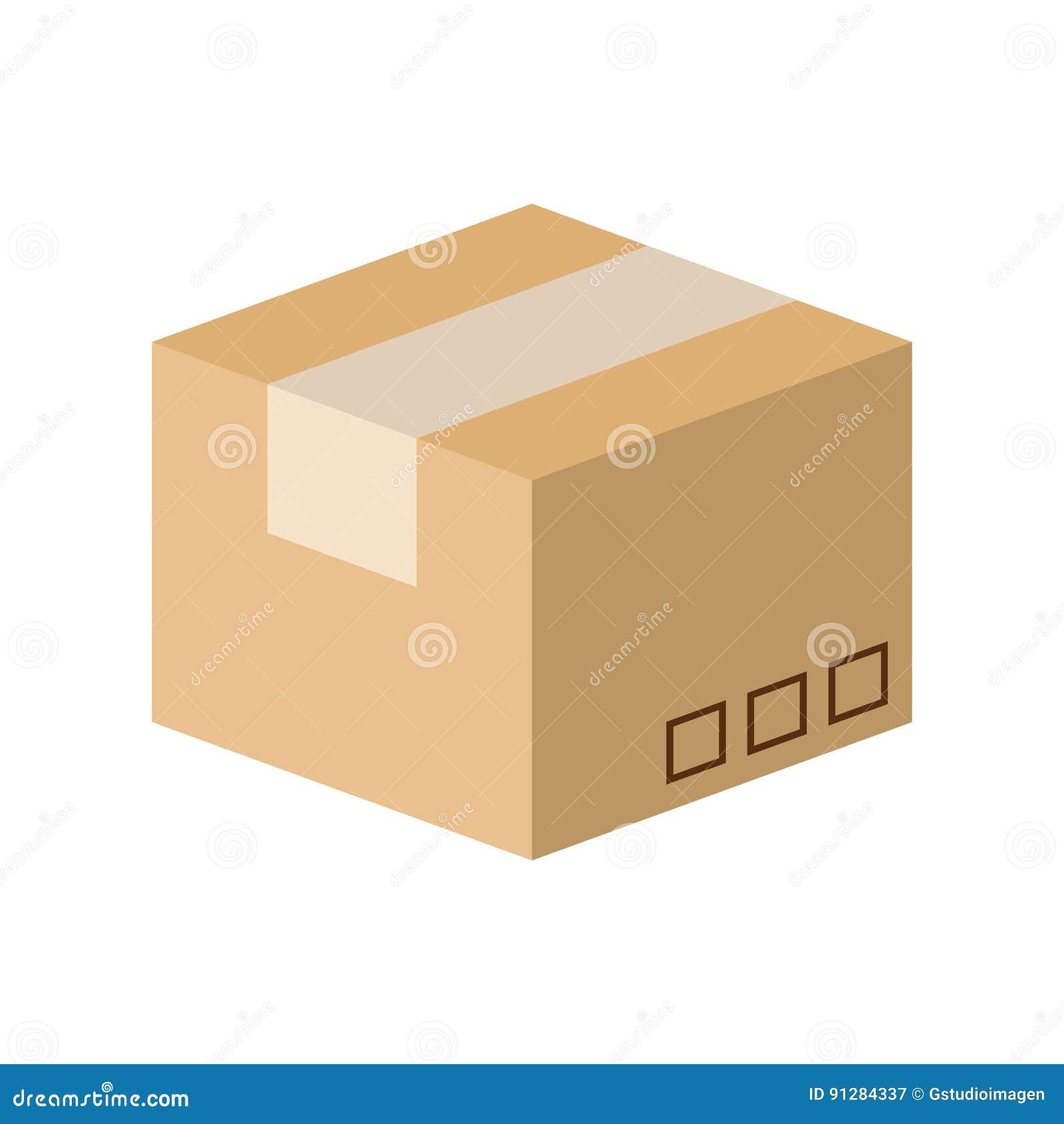 Symbol för lådaaskemballage