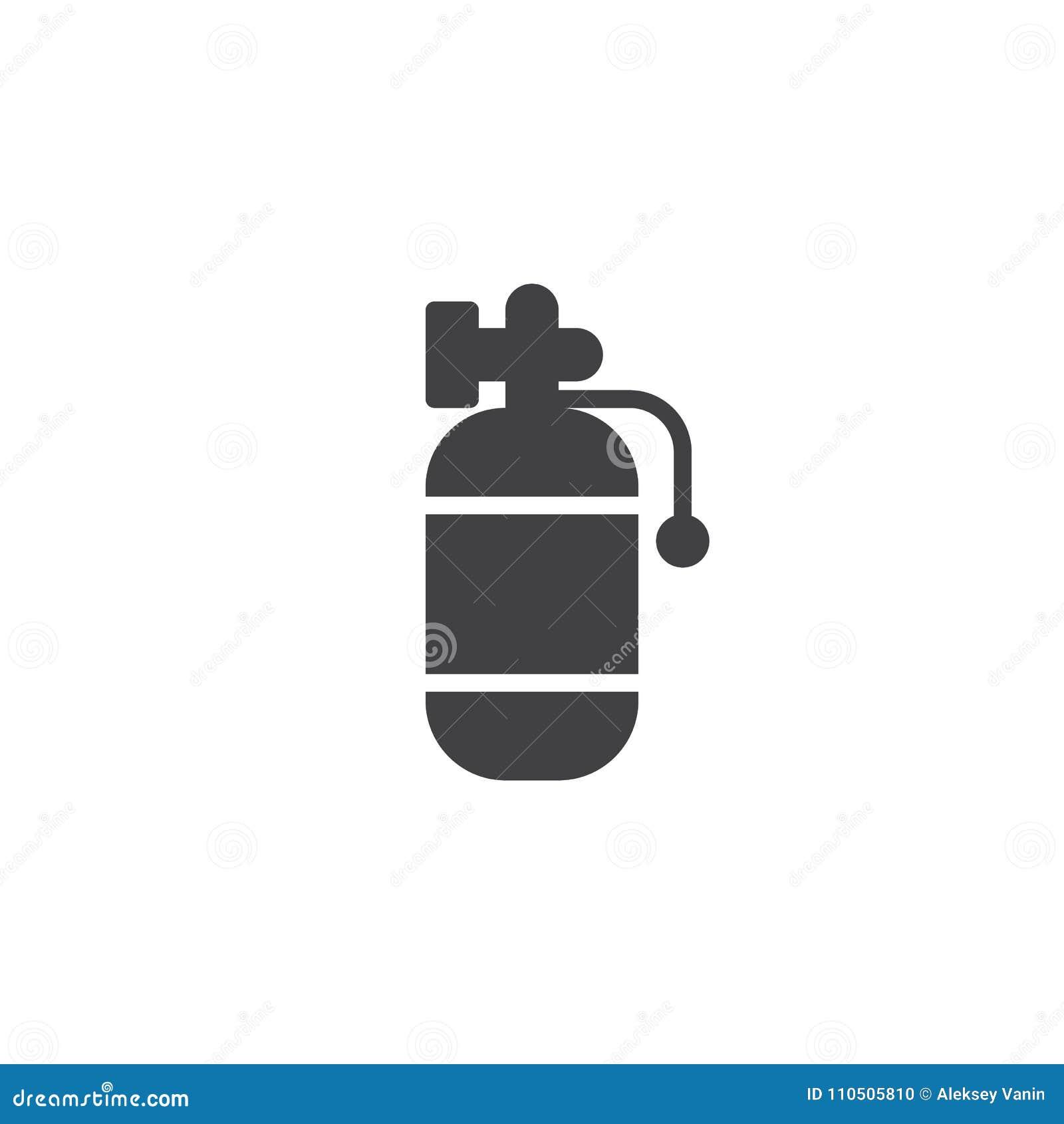 Symbol för luftbehållarevektor