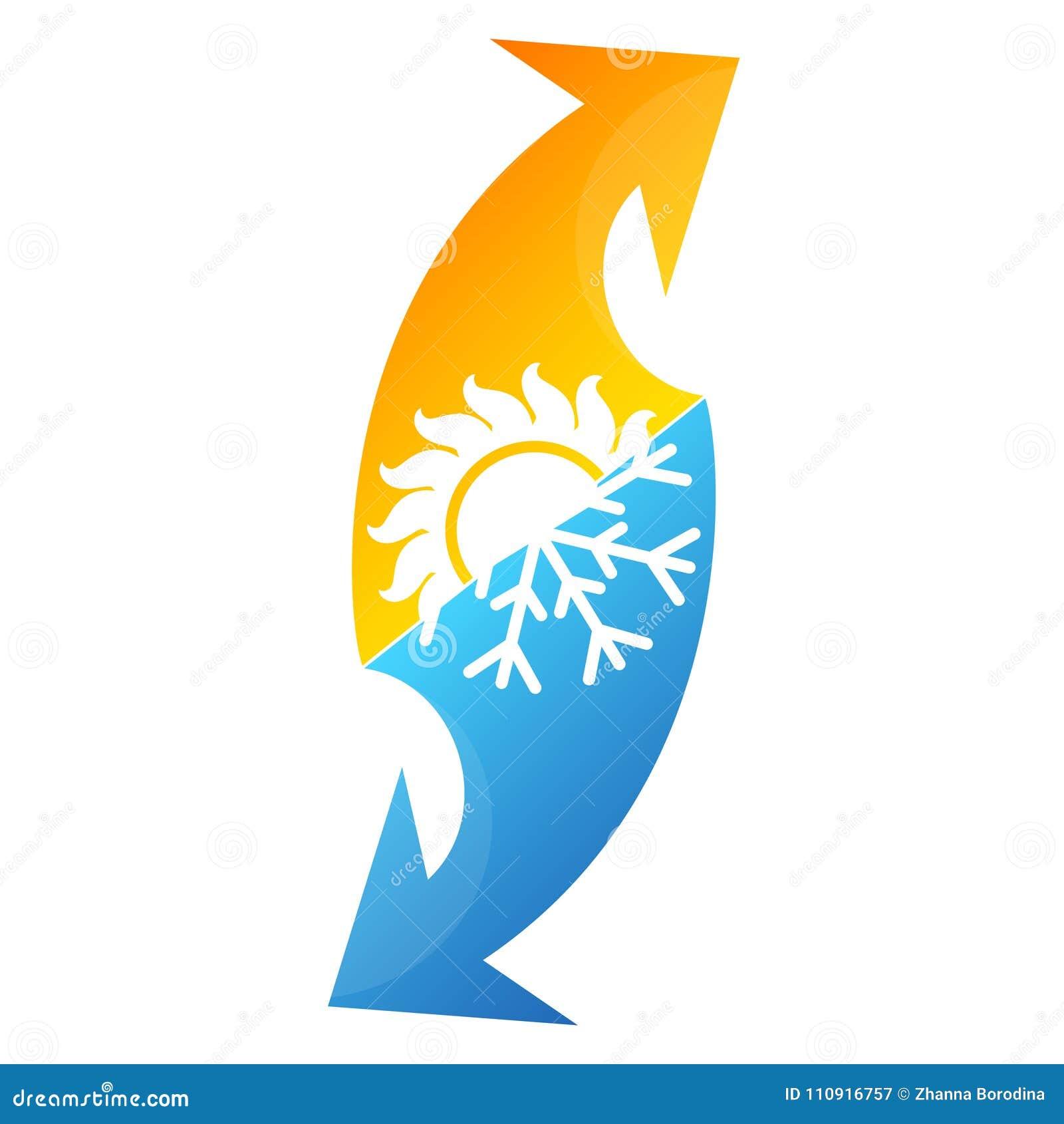 Symbol för luftkonditioneringsapparat