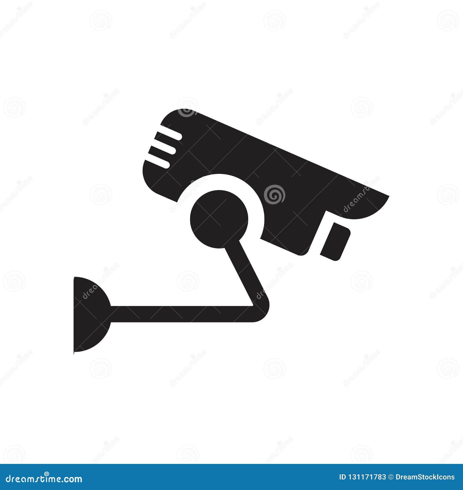 Symbol för säkerhetskamera