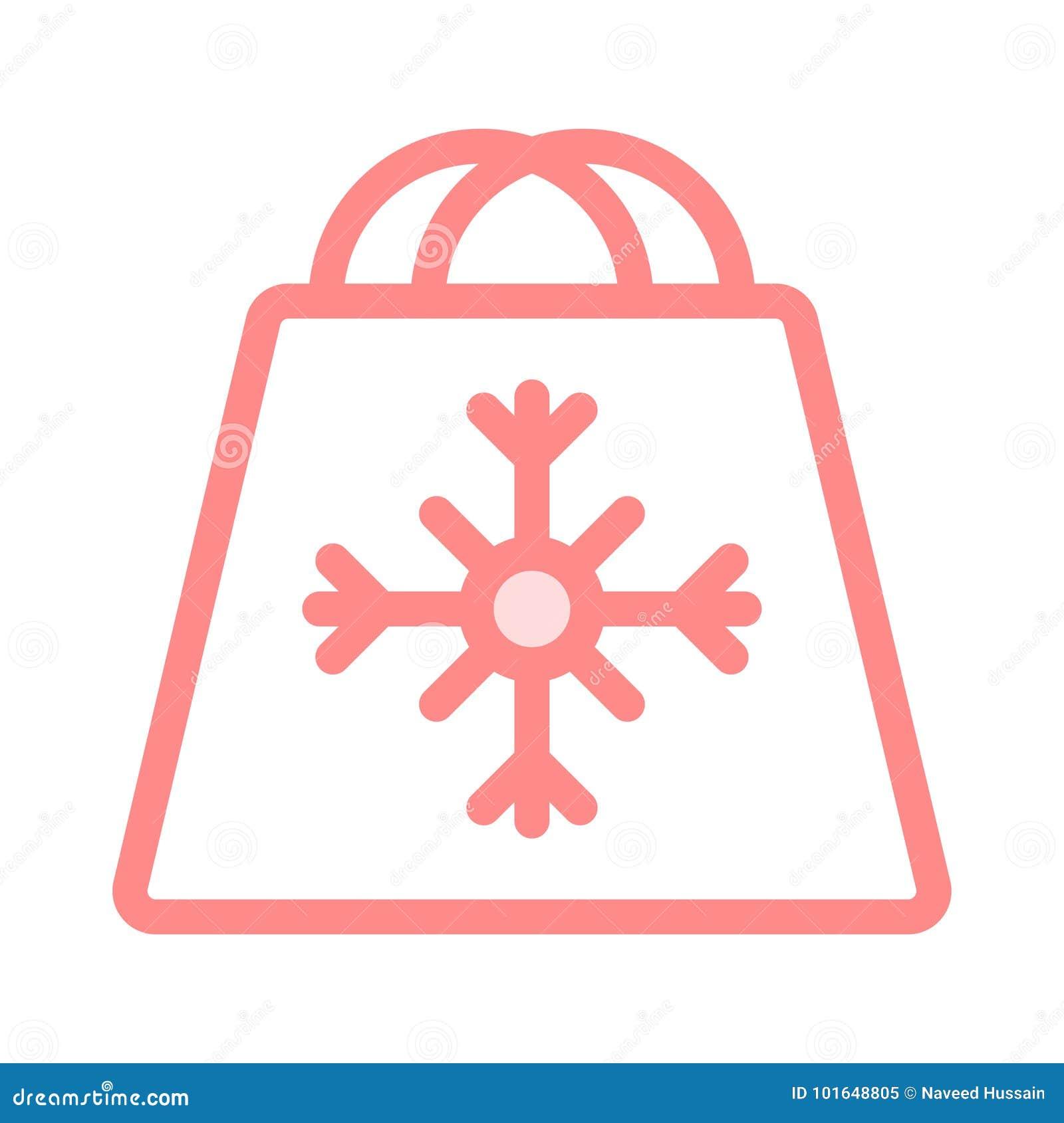 Symbol för shoppingpåse