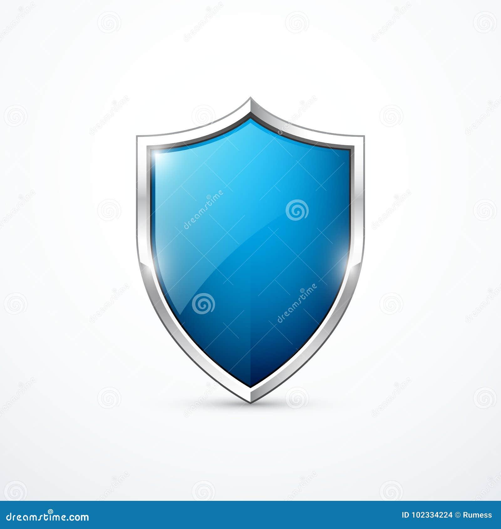 Symbol för vektorblåttsköld