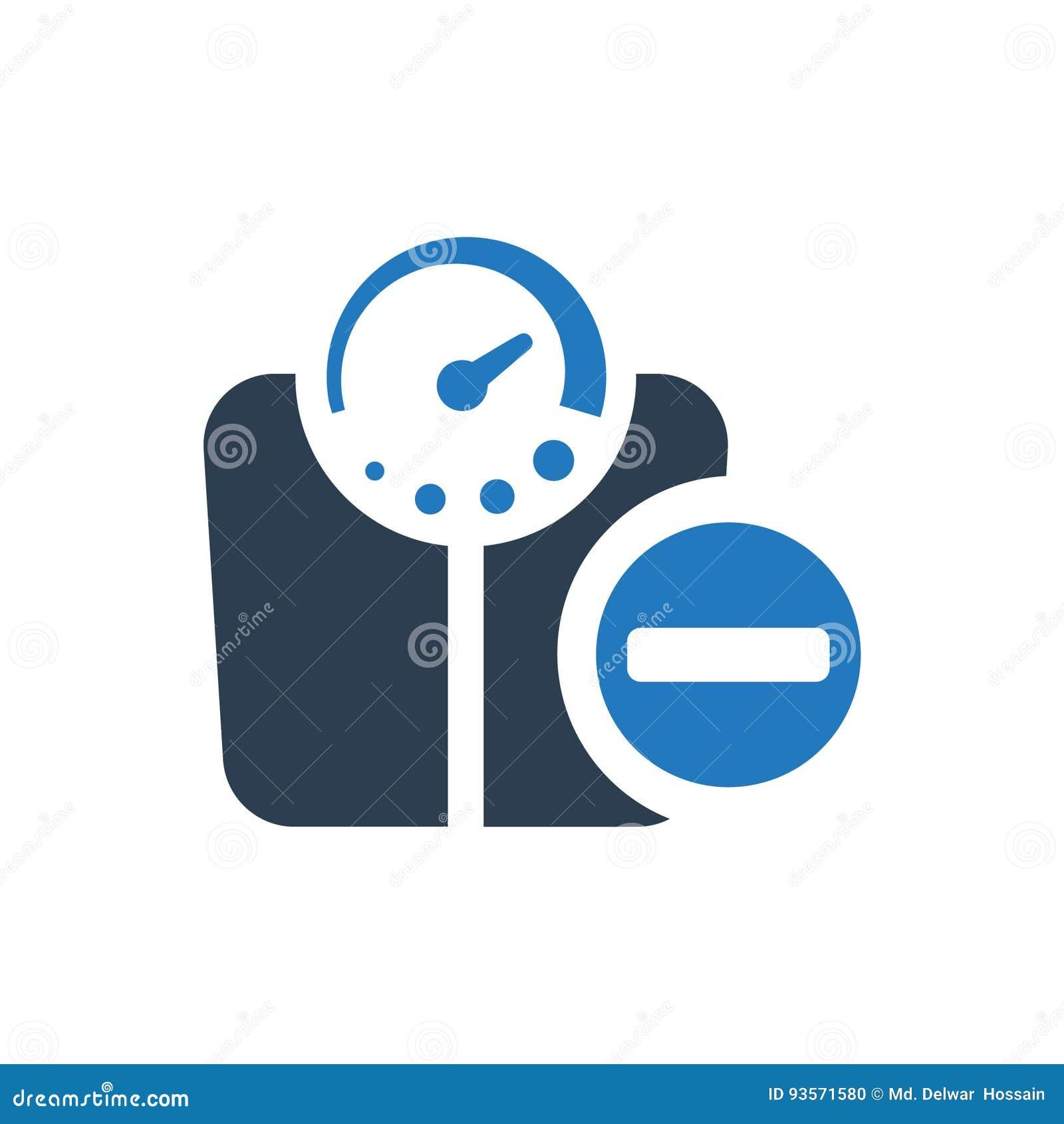 Symbol för viktförlust