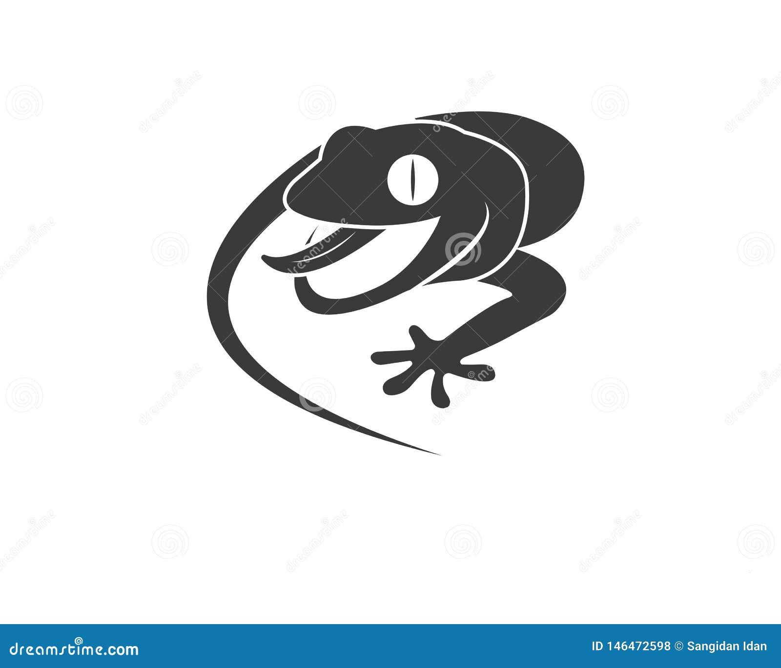 Symbol f?r geckologovektor