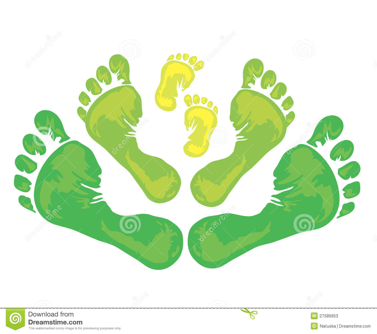 Symbol of family foot print stock illustration illustration of symbol of family foot print biocorpaavc Gallery