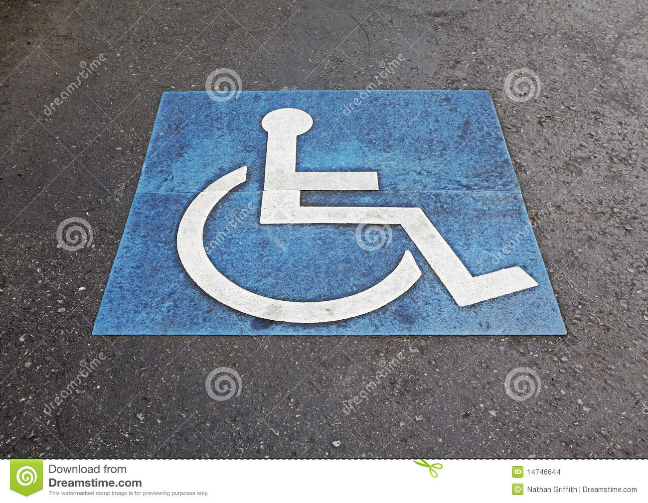 Symbol of handicapped parking space stock photo image of symbol of handicapped parking space buycottarizona
