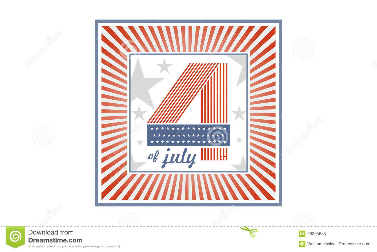 Symbol Of Independence Day United States Of America Also Referred