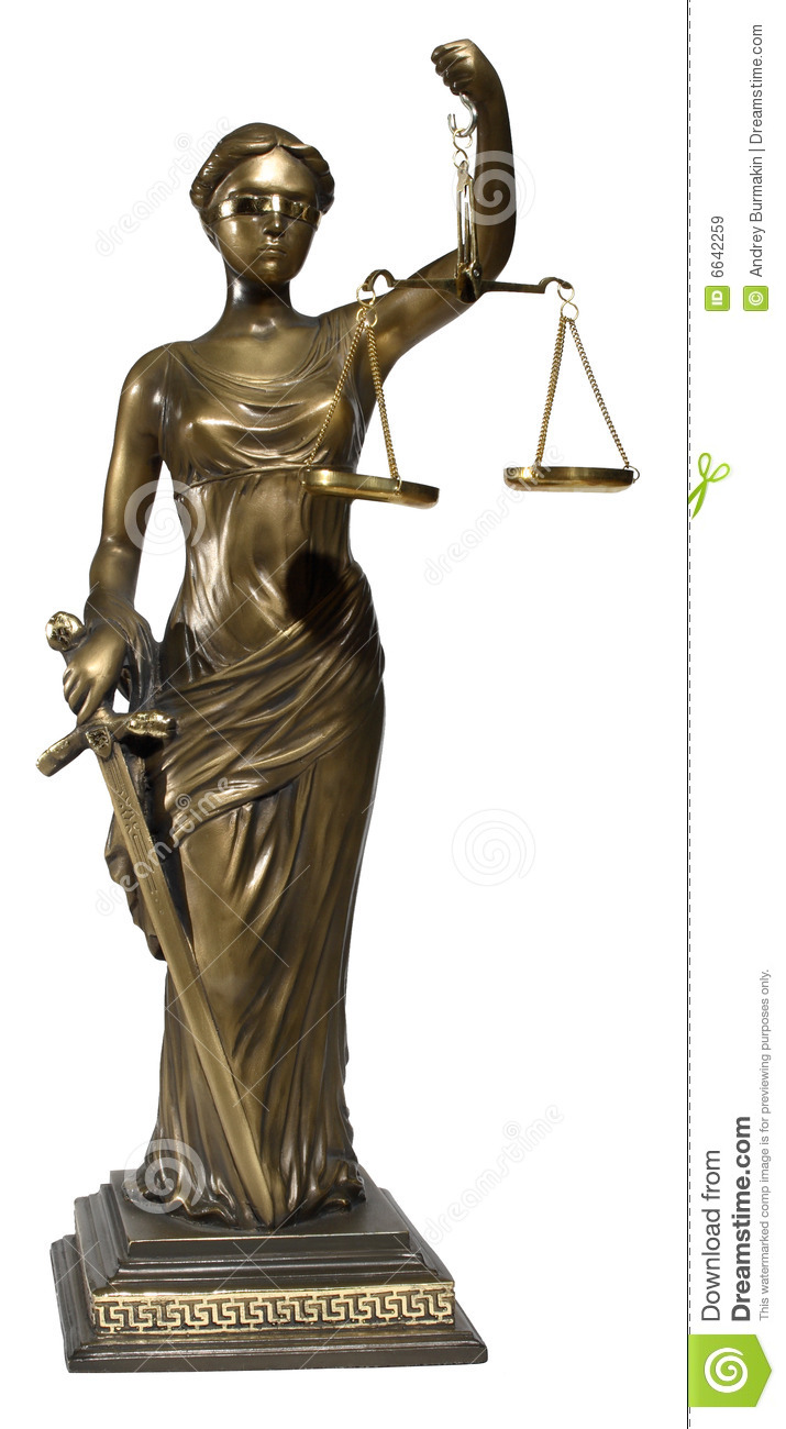 Symbol Of Justice Royalty Free Stock Images - Image: 6642259