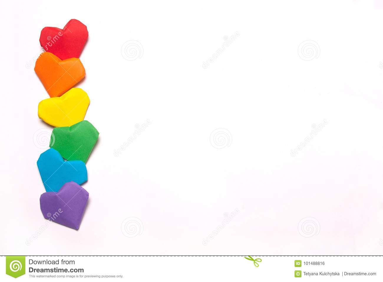 Symbol Of Lgbt A Rainbow Flag Stock Photo Image Of Sign Love