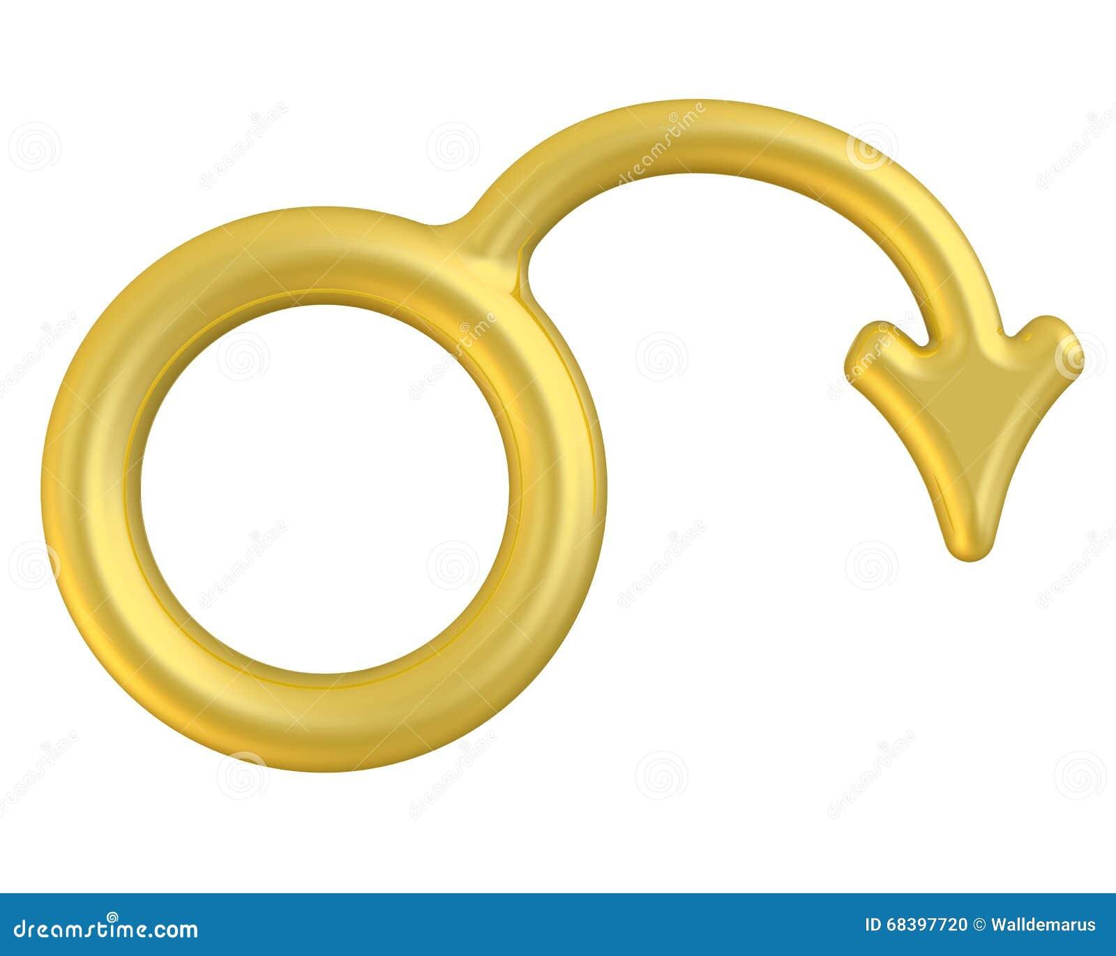Symbol męska impotencja