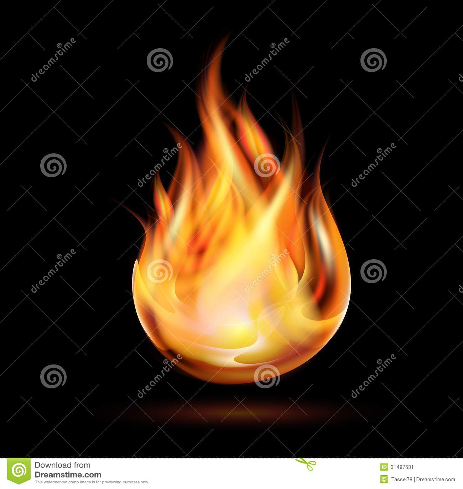 Symbol ogień