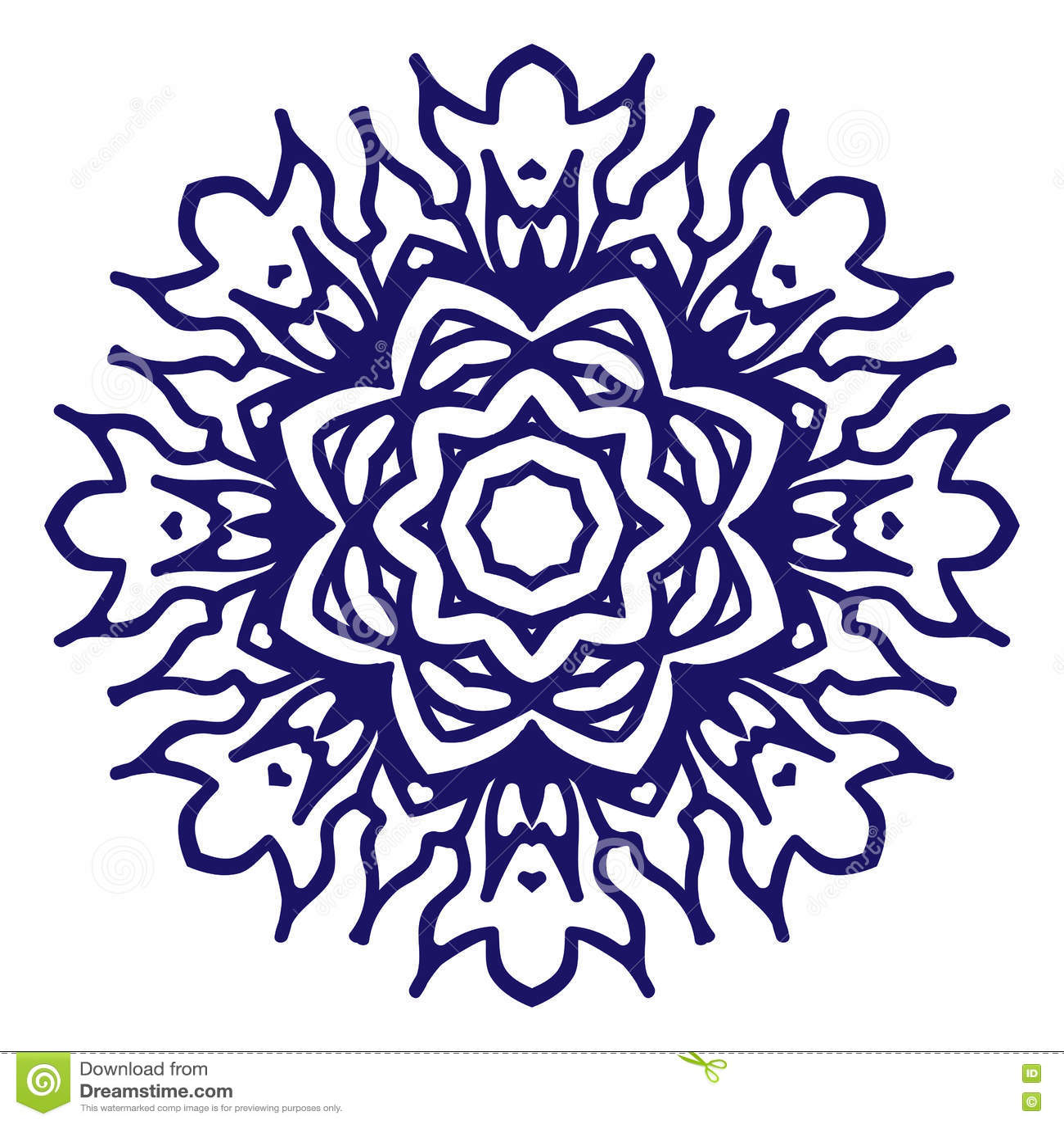 Symbol Of Peace And Love Stock Illustration Illustration Of Islamic