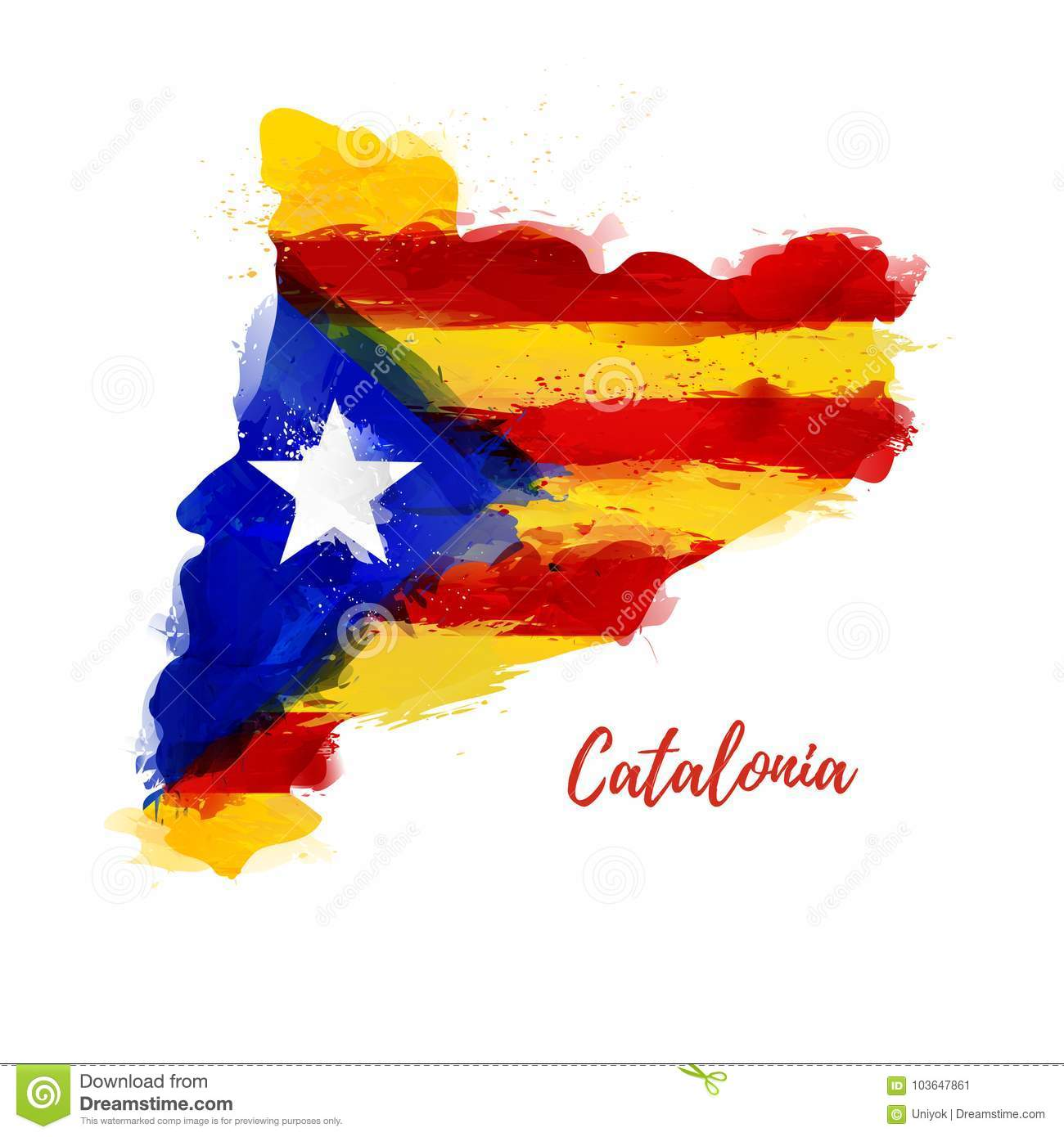on catalonia map