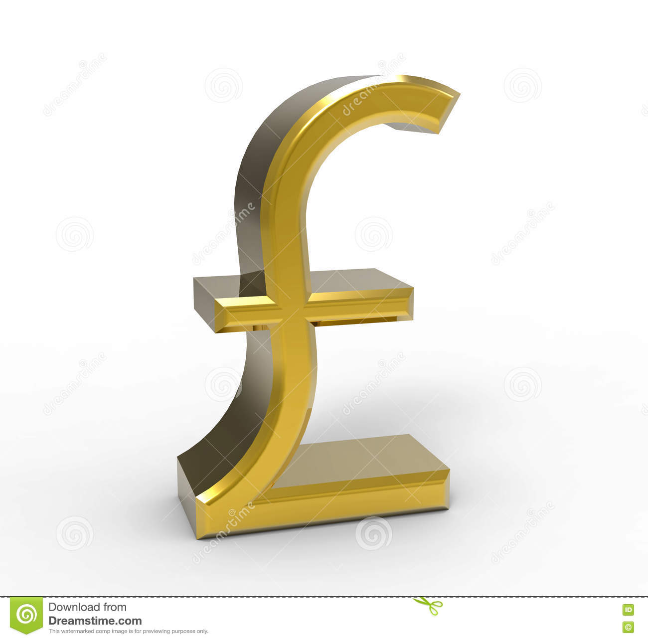Symbol of pound currency gallery symbol and sign ideas symbol of the pound sterling 3d rendering stock illustration symbol of the pound sterling 3d rendering biocorpaavc Gallery