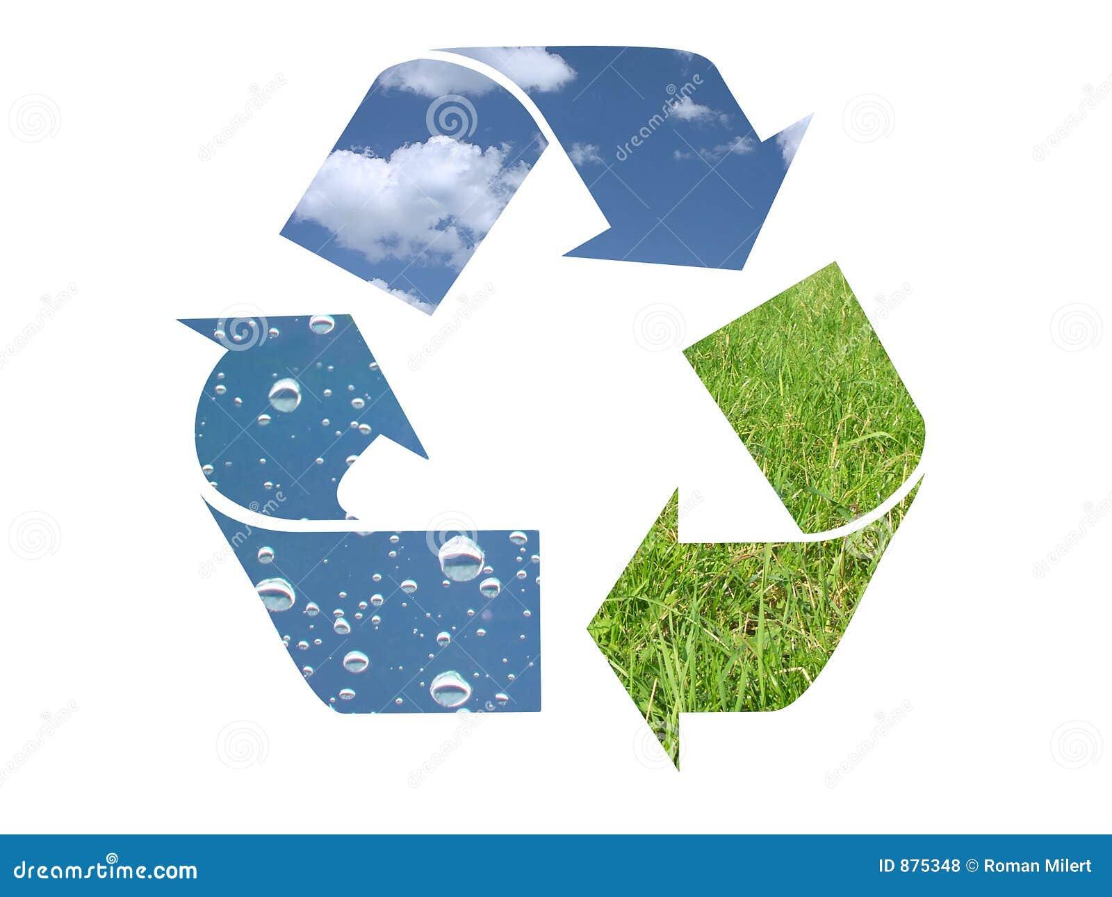 Symbol recyklingu element 3