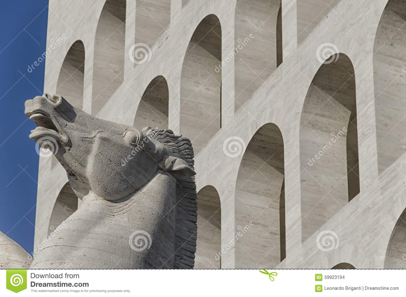Symbol Of Rome Stock Photo Image Of Structure Rationalist 59923194