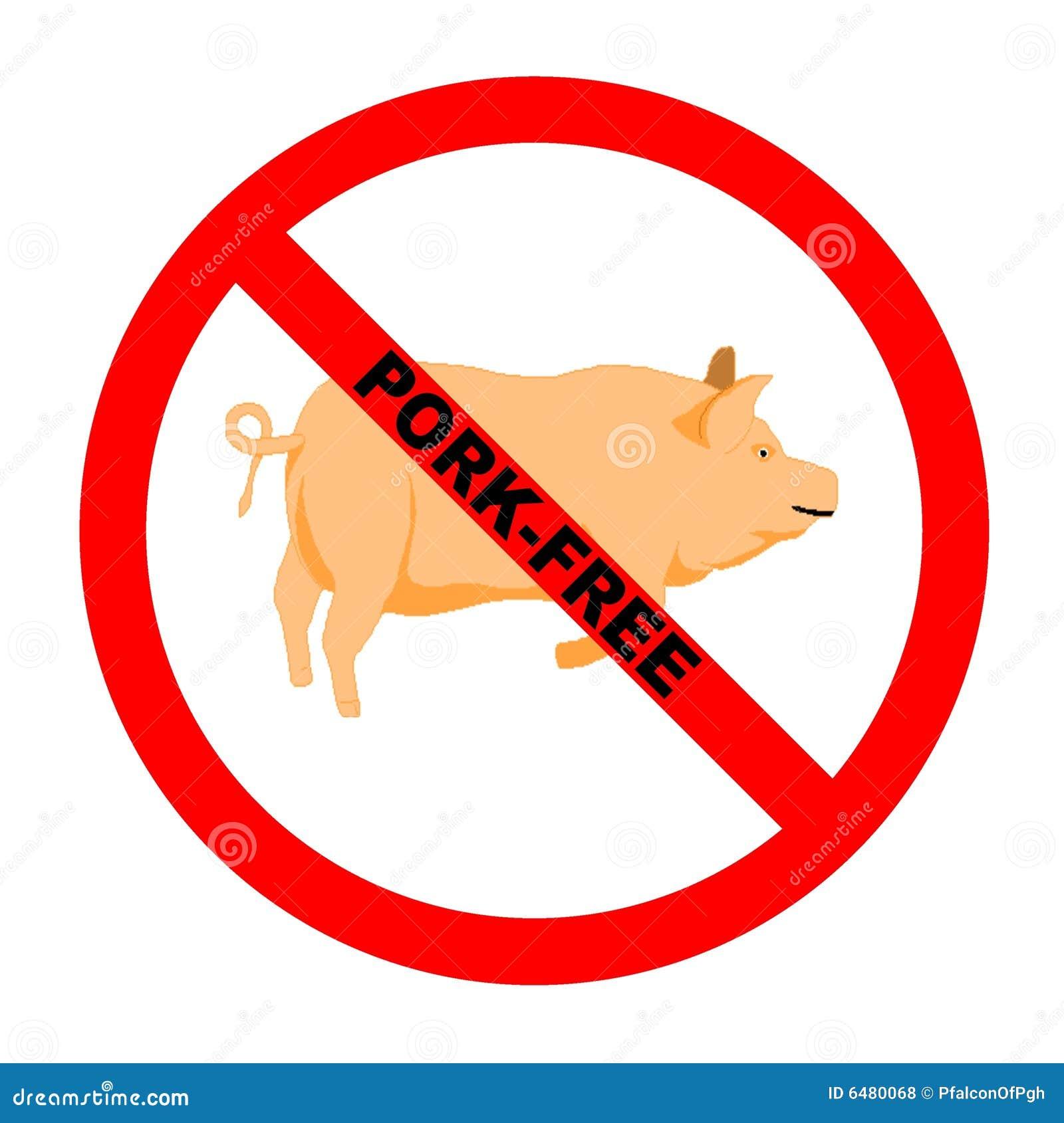 Schweinefleisch frei