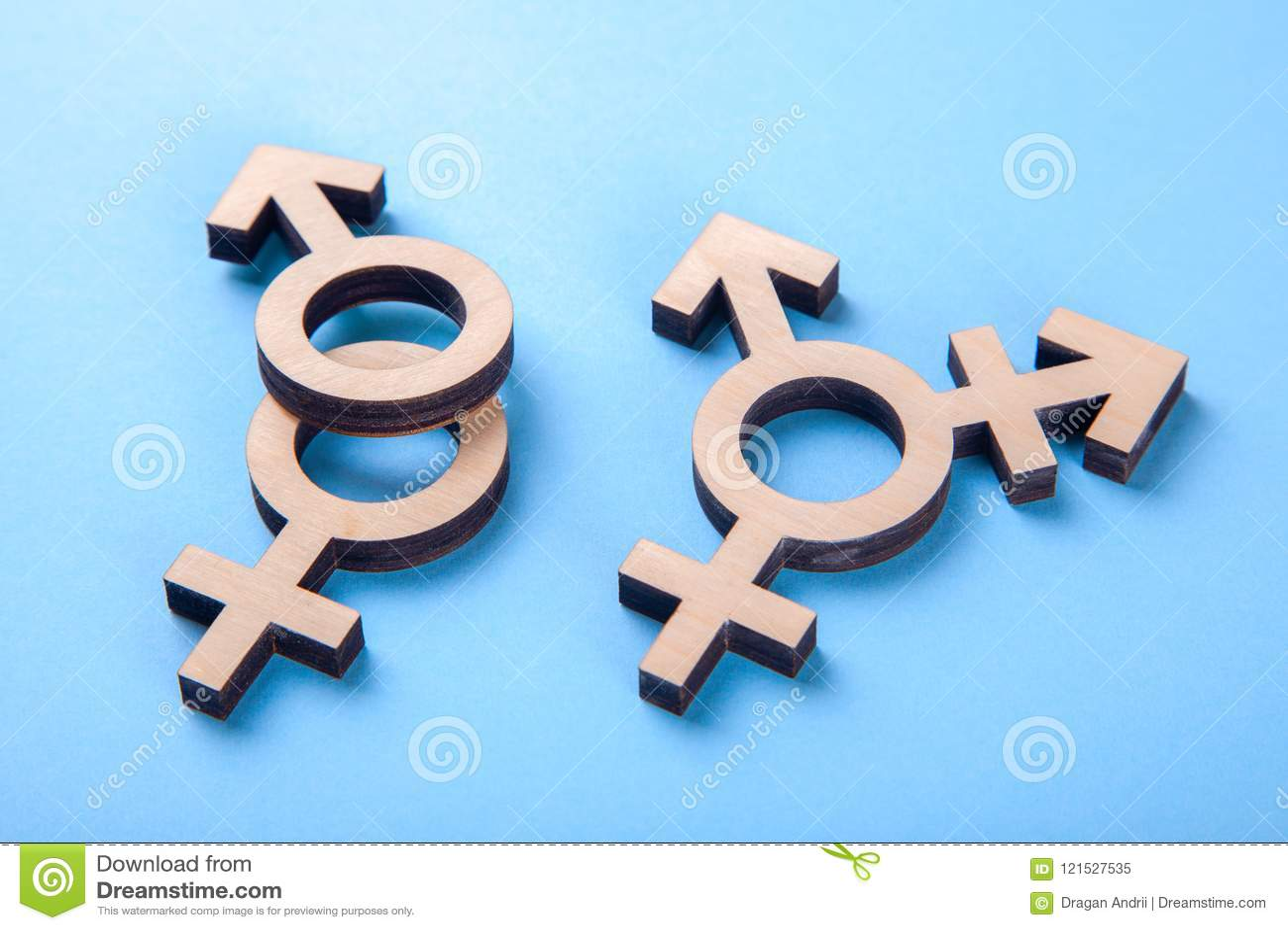 Symbol transgender, rodzaju symbole i