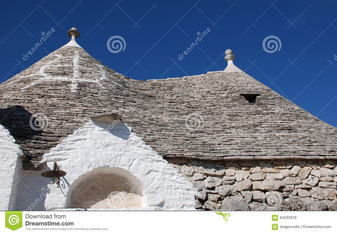 Symbol on Trullo Roof