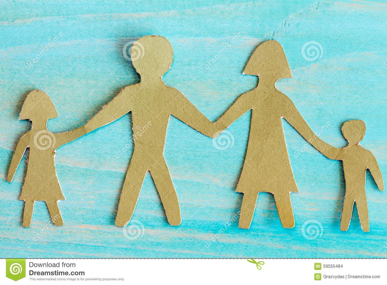 The Symbol Of Unity And Happiness Stock Photo Image Of Paper Love