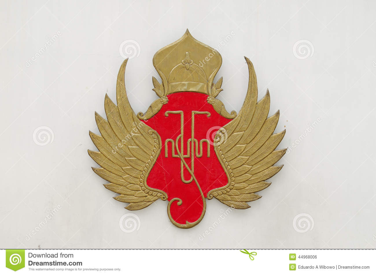 The Symbol Of Yogyakarta Sultanate Stock Photo Image Of Gedhong
