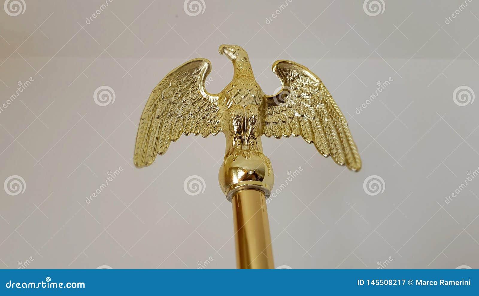 Symbol złoty Amerykański orzeł