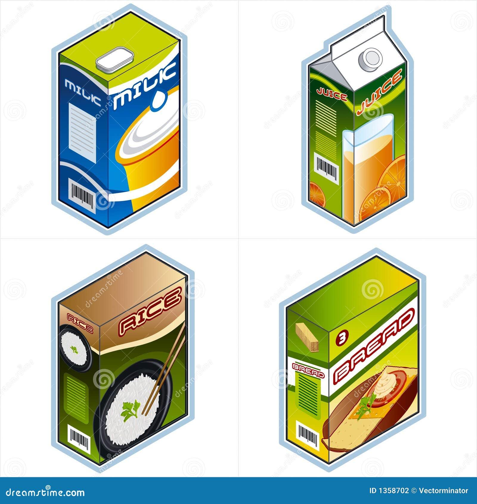 Symbole 34a. Lebensmittelgeschäftikonen