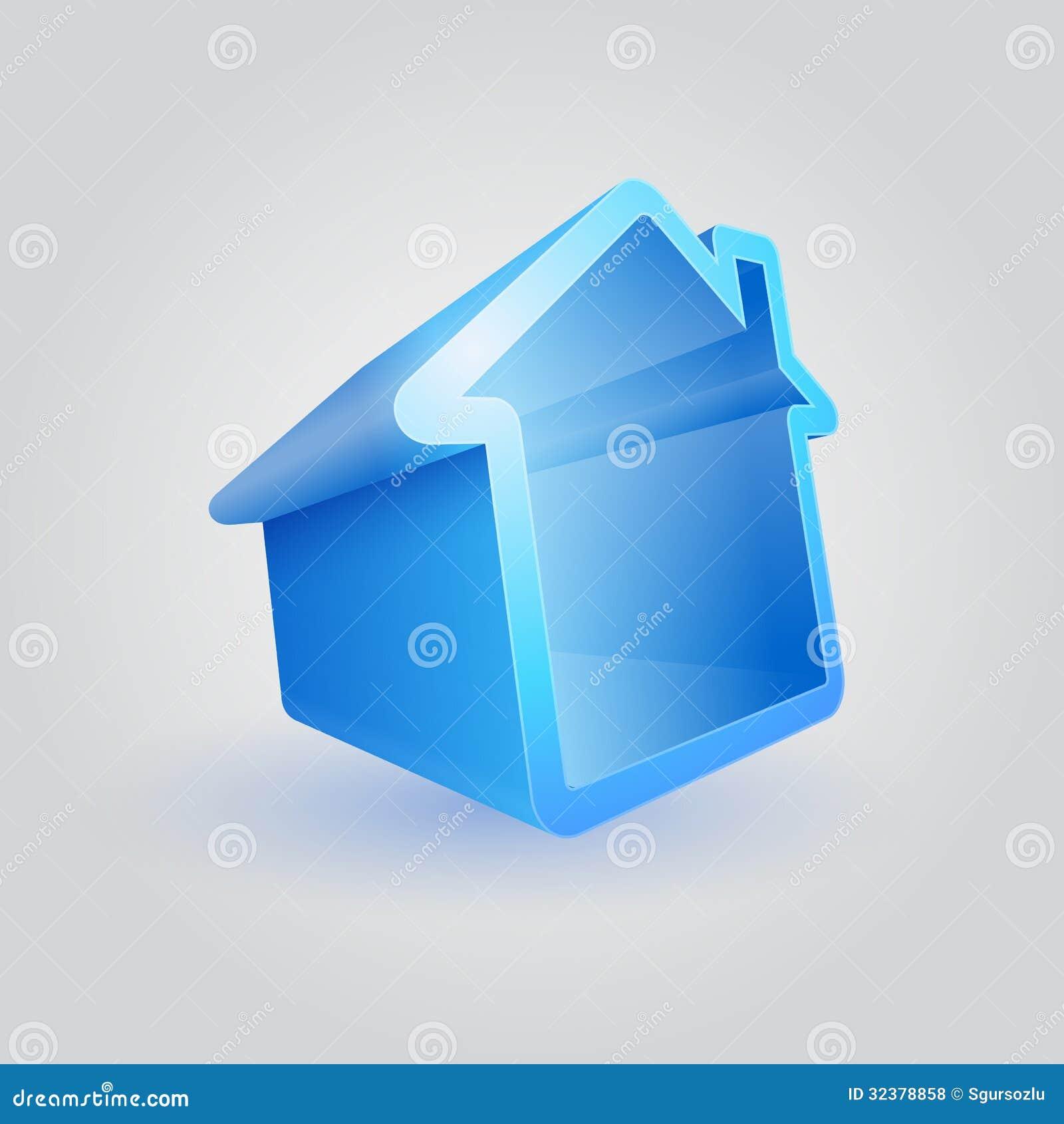 Symbole bleu de Chambre