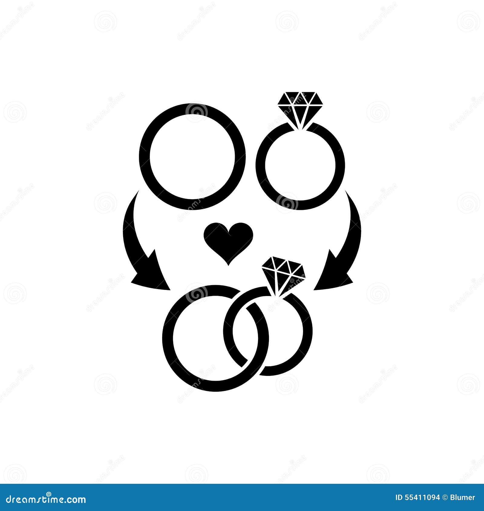 Symboles de mariage