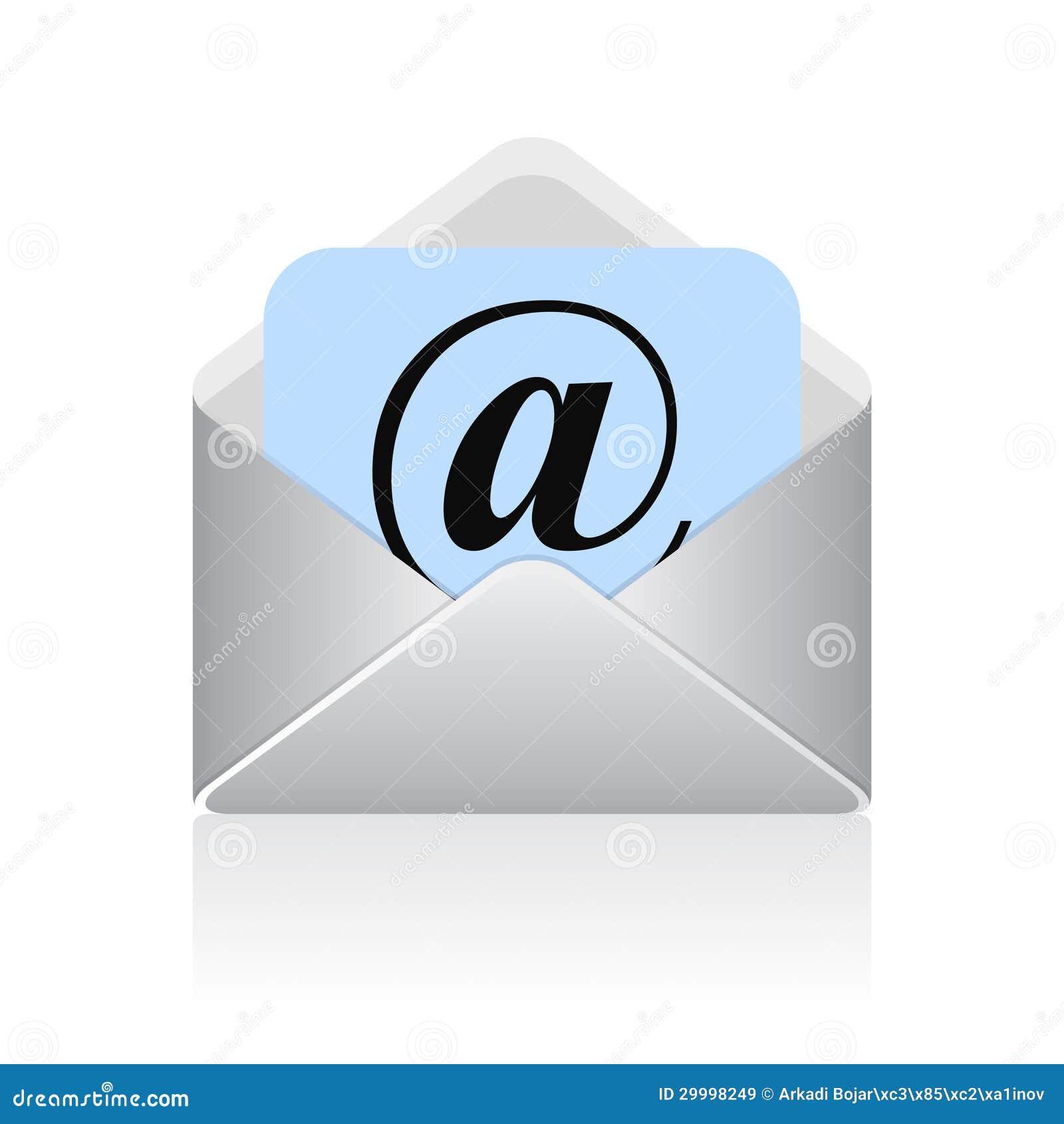 symbole d u0026 39 email de vecteur illustration de vecteur  illustration du  u00e9tiquette