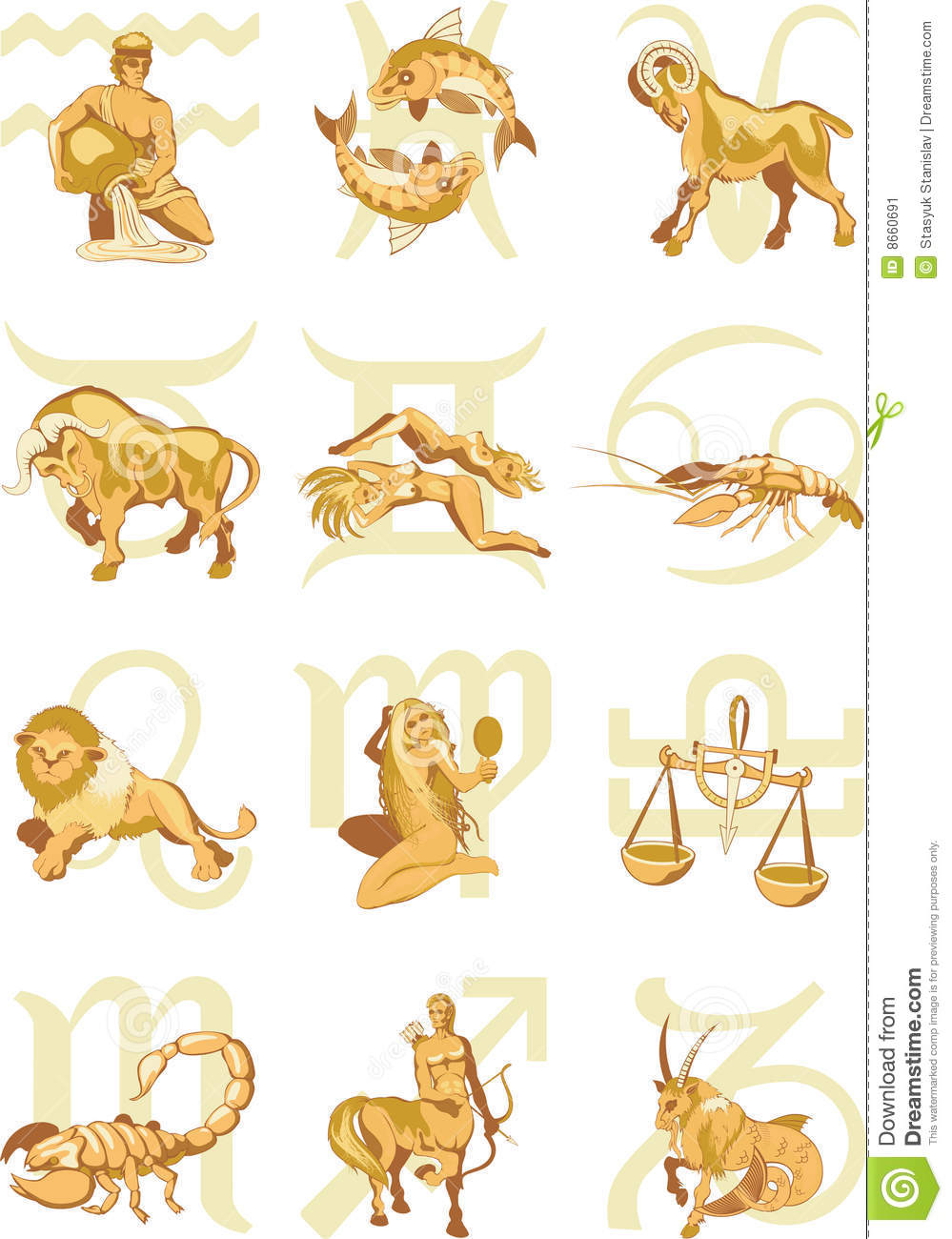 Symbole d horoscope