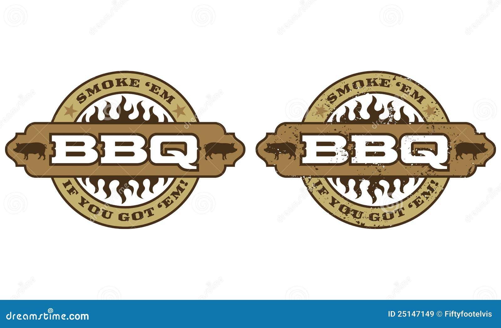 Symbole de barbecue avec des flammes