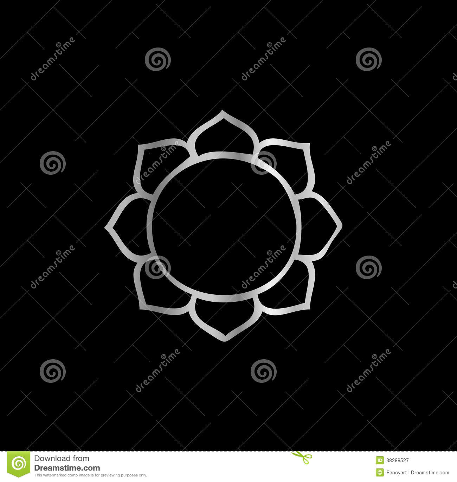 symbole de fleur de lotus de bouddhisme illustration de vecteur illustration du bouddhisme. Black Bedroom Furniture Sets. Home Design Ideas