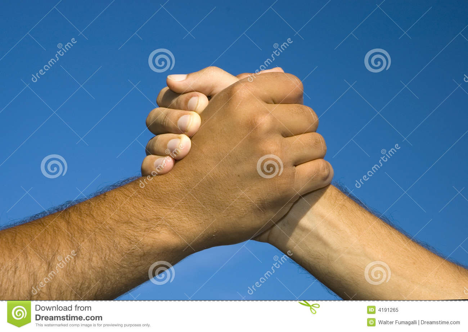 Relativ Symbole de l'amitié image stock. Image du handshake, charité - 4191265 UB71