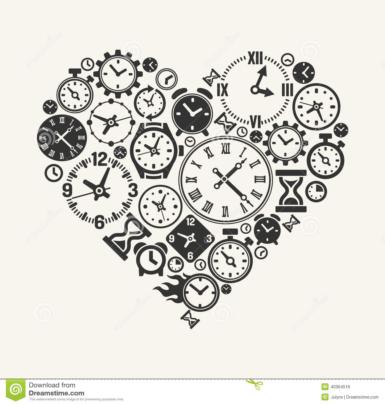 symbole de l 39 amour pour toujours illustration de vecteur image 40364516. Black Bedroom Furniture Sets. Home Design Ideas