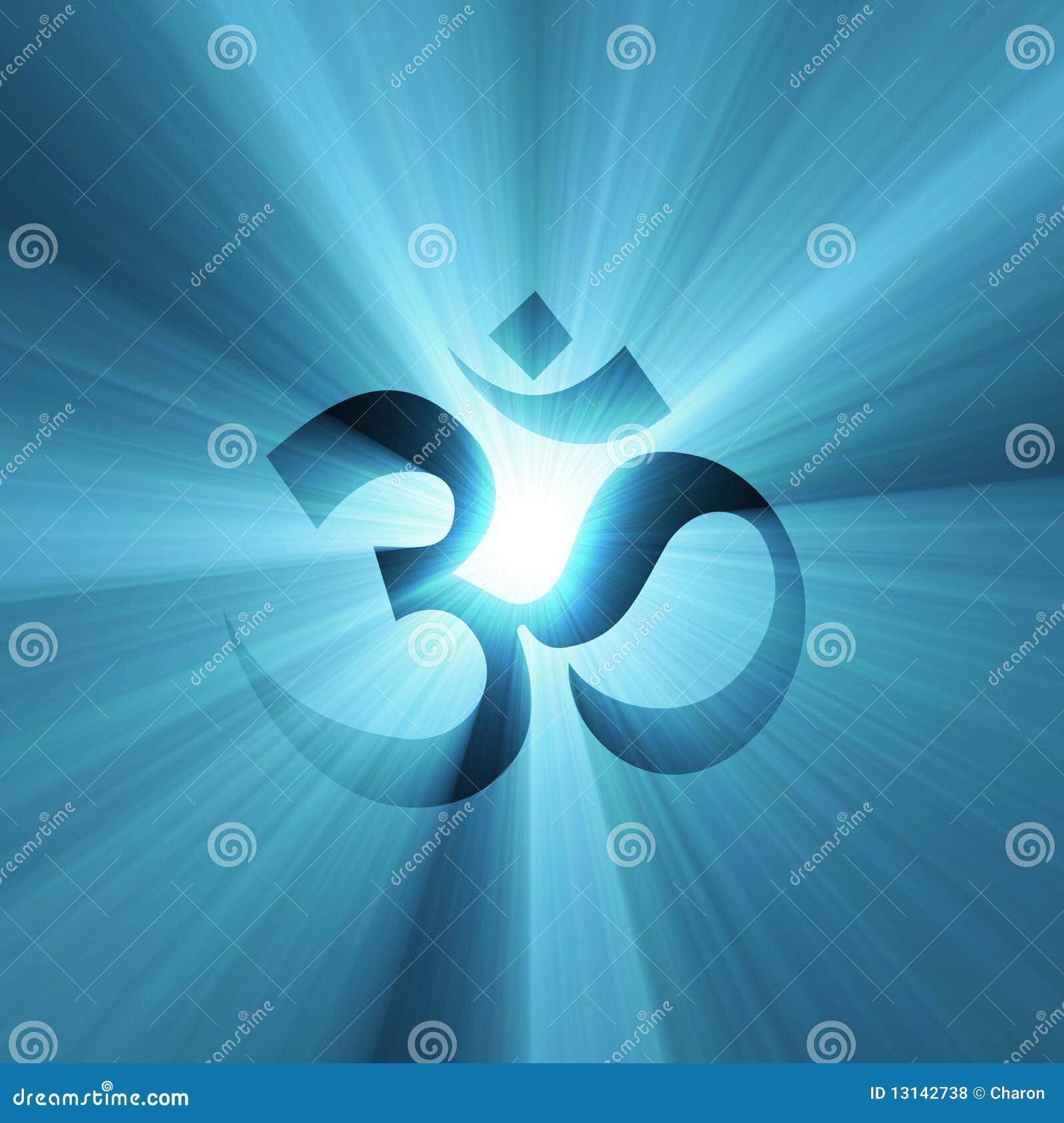 Symbole de l OM avec le halo léger