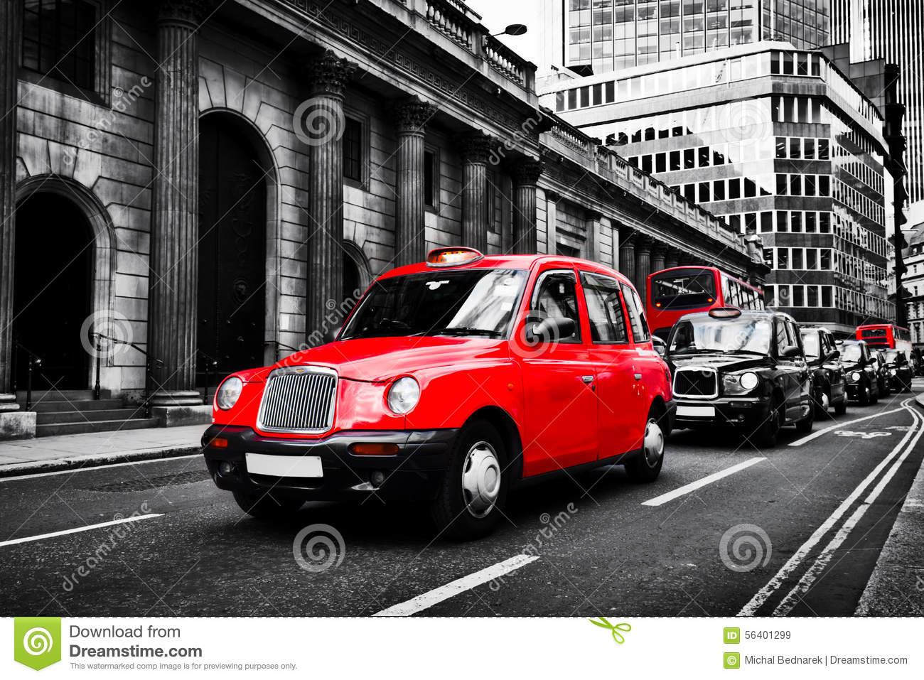 symbole de londres r u taxi connu sous le nom de chariot de hackney image stock image 56401299. Black Bedroom Furniture Sets. Home Design Ideas