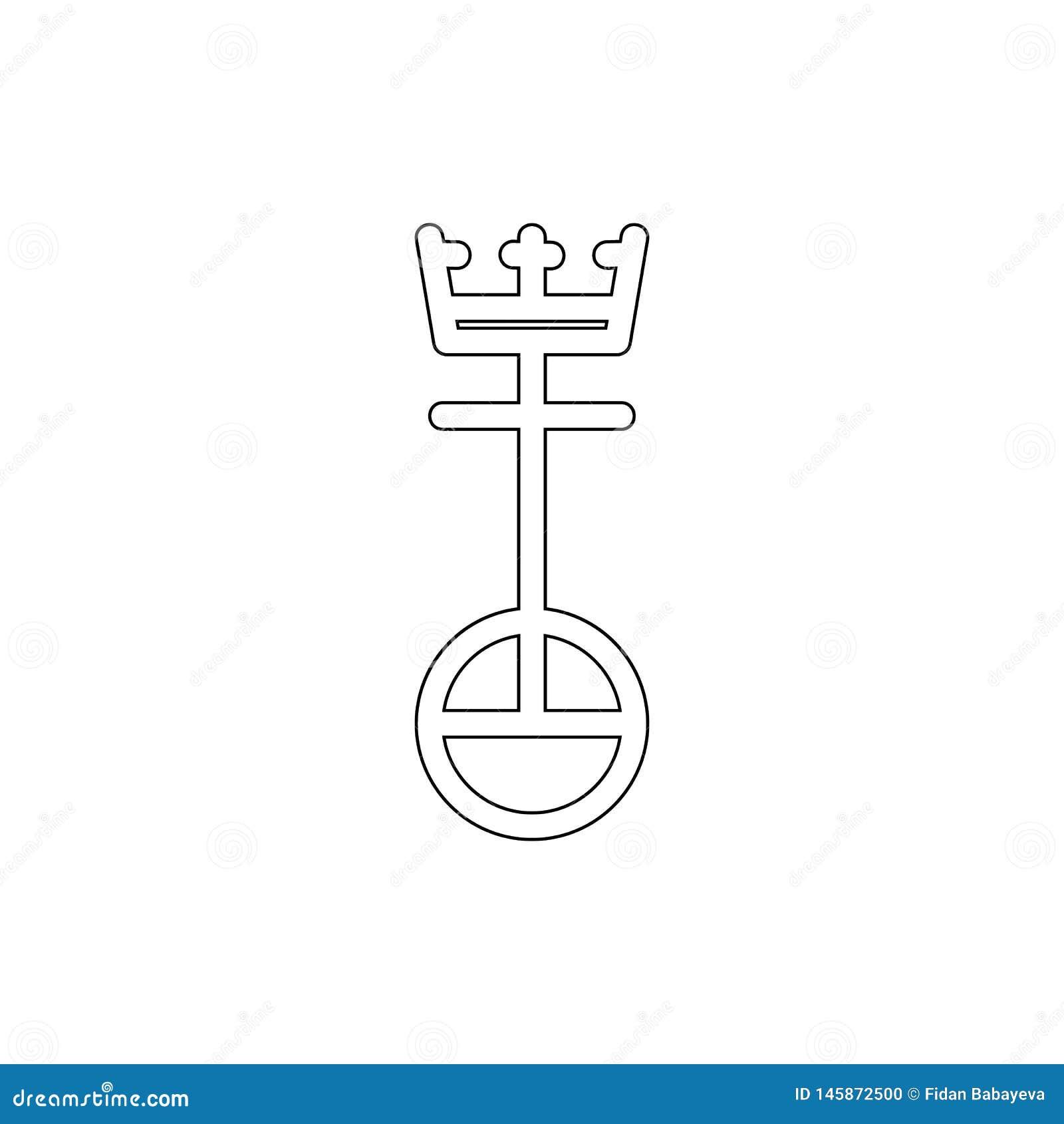 Symbole de religion, icône d ensemble d Église Unie du Christ ?l?ment d illustration de symbole de religion Des signes et l ic?ne