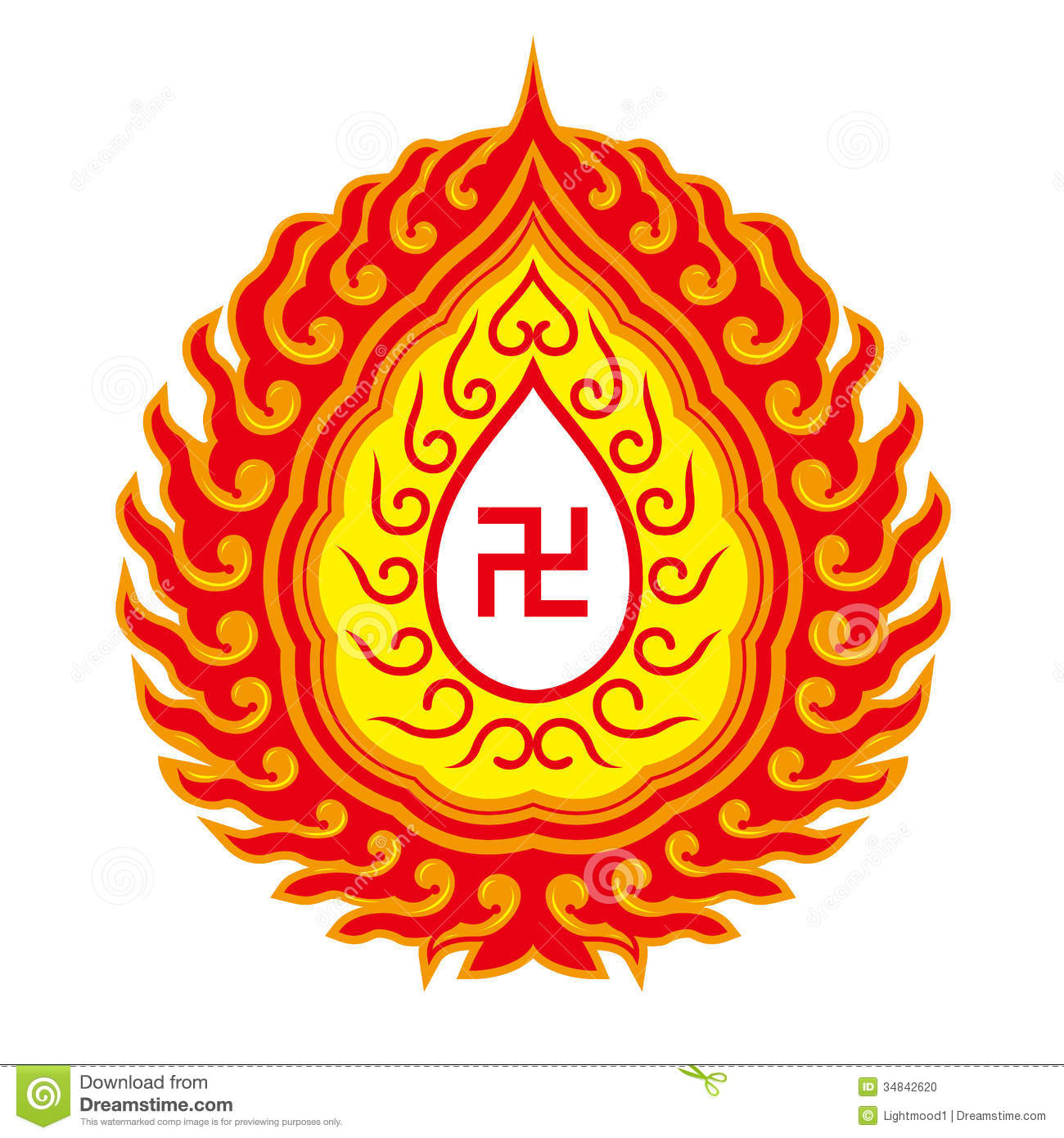 Symbole de svastika mod le bouddhiste de tradition photo stock image 34842620 - Symbole bouddhiste om ...