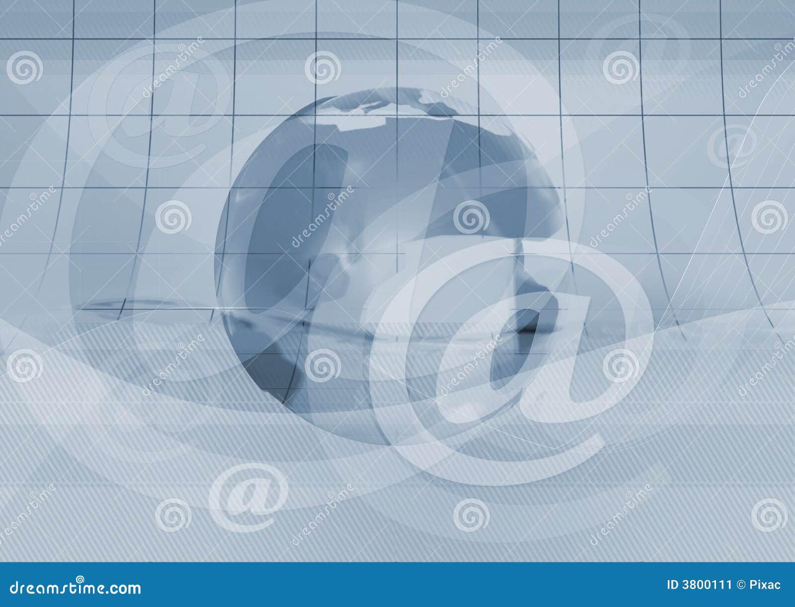 Symbole et terre d email