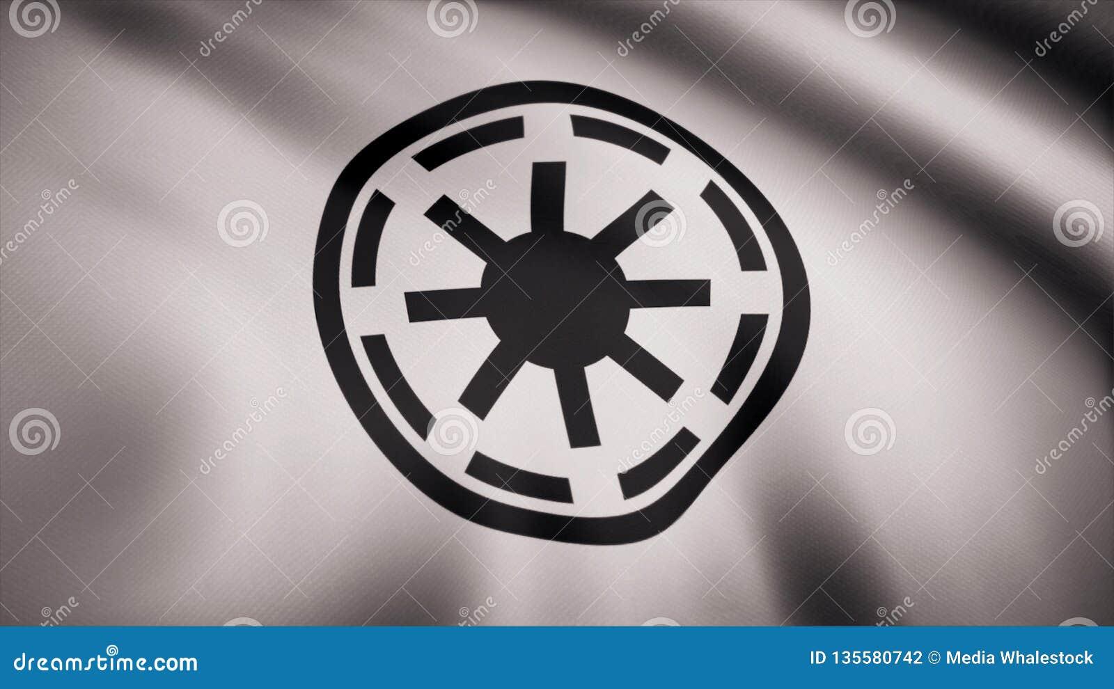 Symbole galactique Logo Flag de République de Star Wars Symbole galactique Logo Flag de République de Star Wars Utilisation édito